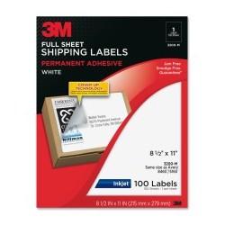 3M Full Sheet Label