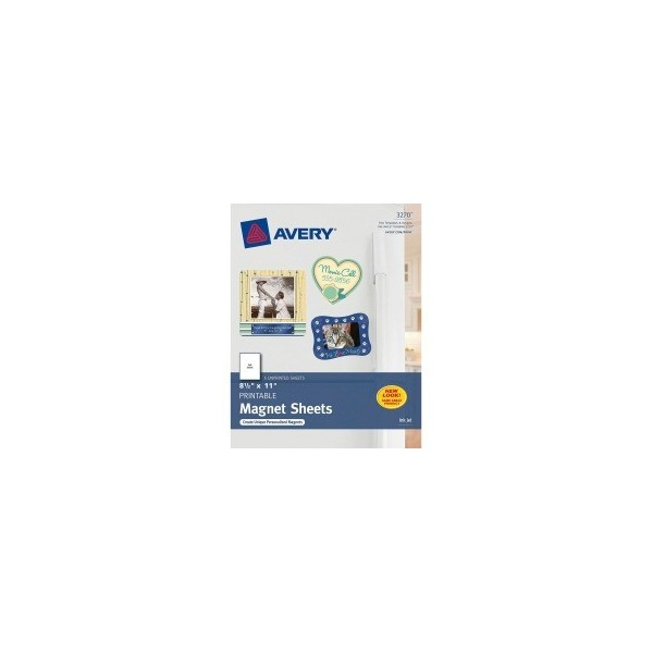 photo about Avery Printable Magnet Sheets known as Avery Particular person Creations Magnetic Sheet