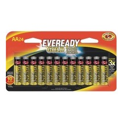 EVEA91BP24HT Eveready Gold Alkaline Batteries