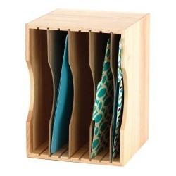 Safco Wood Stackable Sorter